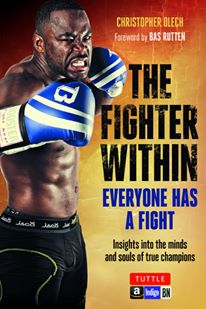 Quick Pic: Canadian Chris Olech, Author of 'The Fighter Within' to release book on Feb 2