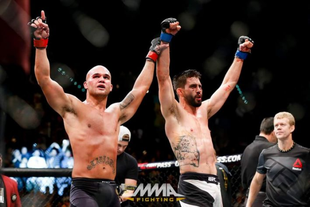UFC 195 results for Lawler vs. Condit in Las Vegas