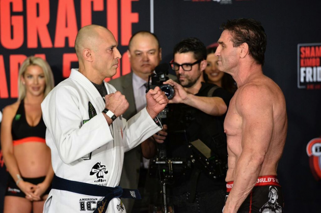 Official 'Bellator 149: Shamrock vs. Gracie' Weigh-In Results & Photos