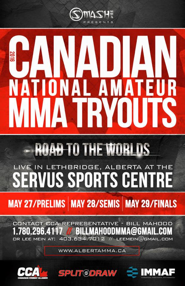 2016 TEAM CANADA National selection tournament to be held May 27, 28 and 29 in Lethbridge, AB