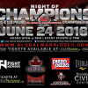 Global Warriors 3 – Night of Champions rescheduled for June 24 in Brantford, Ontario