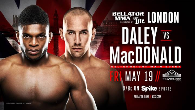 Rory MacDonald to Make Bellator Debut Against Paul Daley in London on May 19