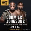 UFC 210 weigh in video and results for 'Cormier vs Johnson 2' in Buffalo