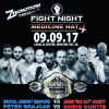 Fight Night by Z Promotions live on Sept 9 in Medicine Hat, Alberta