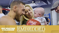 Mayweather vs McGregor 'Embedded' video (Ep. 2): Rollerskating Floyd Mayweather doesn't rent his super cars like Conor McGregor
