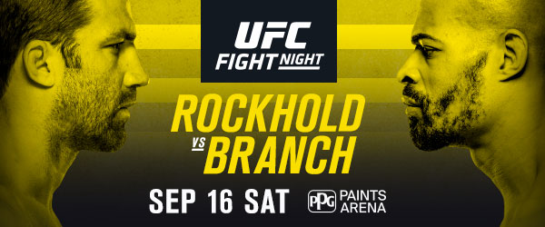 Former UFC Champ Rockhold returns to face Branch at UFC Fight Night