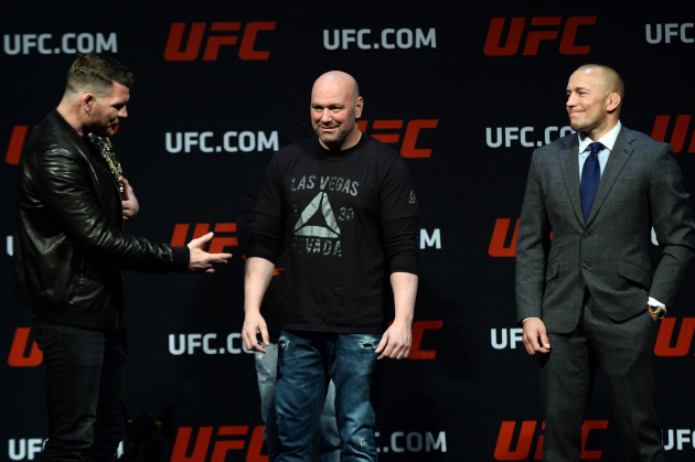 Michael Bisping: 'Fraud' Georges St-Pierre thinks I'm easy pickings because he outwrestled me when I didn't know a double-leg from a Big Mac