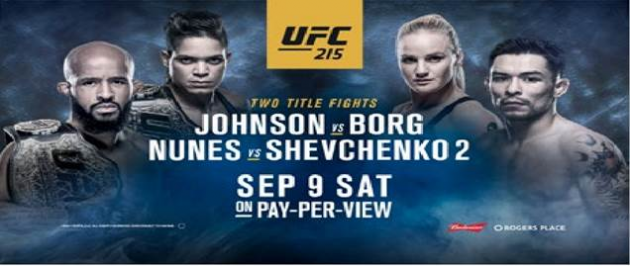 What's on the minds of the stars of Edmonton's UFC 215®: JOHNSON vs. BORG?
