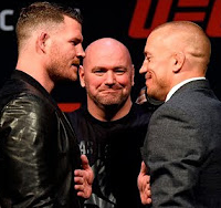 UFC 217: Press Conference featuring St-Pierre and Bisping