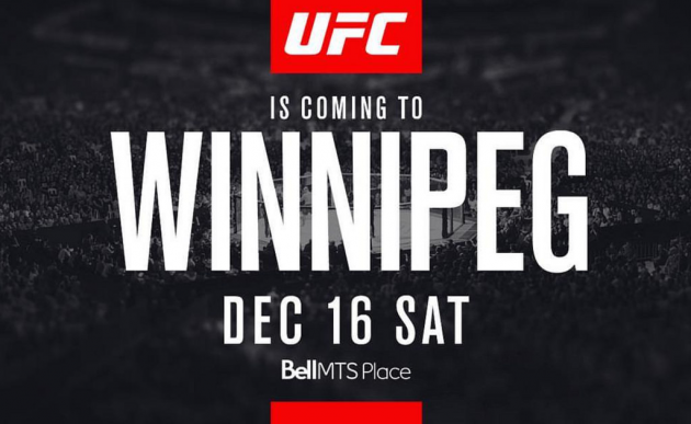 Former Champions collide as UFC returns to Winnipeg