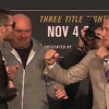 Watch the Video Replay for UFC 217: Pre-fight Press Conference featuring GSP, BISPING and More!