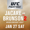 UFC Returns To Charlotte With Pivotal Middleweight Rematch Between Jacare and Brunson
