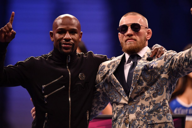 Floyd Mayweather and Conor McGregor go at it again on Twitter over potential UFC fight