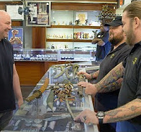 Video: Dana White drops nearly $70k on Pawn Stars to beef up 'weapons room'