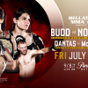 Canadian Julia Budd Defends Her World Title Against Undefeated Talita Nogueira at Bellator 202 on July 13