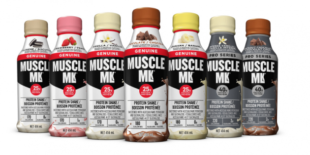 """TITLE: Muscle MLK Ready to Drink Protein Shake Spotlight """"Cookies 'N Crème"""""""