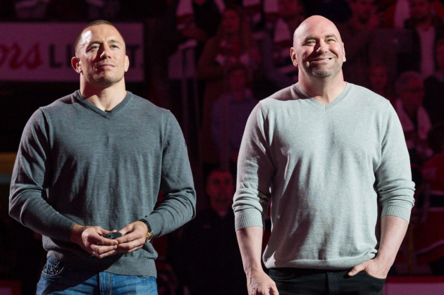 Dana White: UFC isn't interested in Georges St-Pierre and his 'one off money fights'