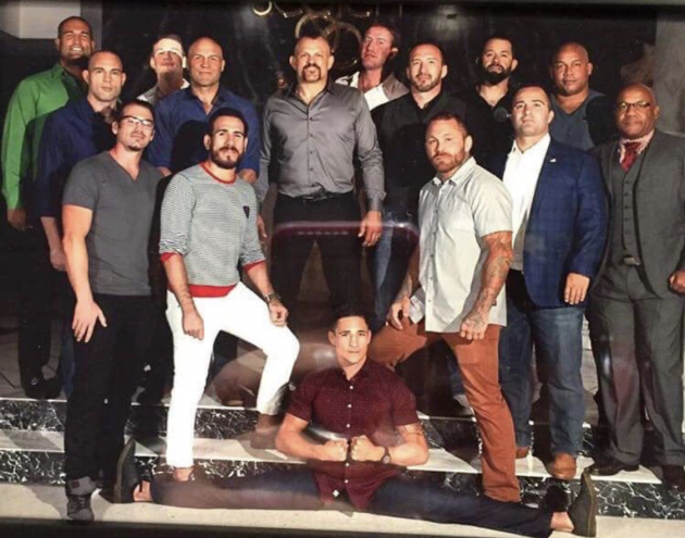 Quick Pic: UFC posts epic 'before and after' pic of TUF 1 cast separated by 14 years