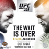 Conor McGregor vs Khabib Nurmagomedov official for UFC 229 in Las Vegas
