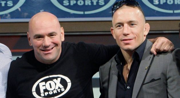 Dana White: Georges St-Pierre needs win over Top 5 contender to earn Khabib title shot