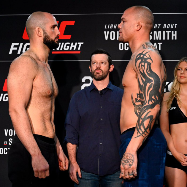 UFC Fight Night 138 Weigh in results from Moncton, New Brunswick