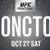 Finalized fight card for UFC's return to Moncton, New Brunswick