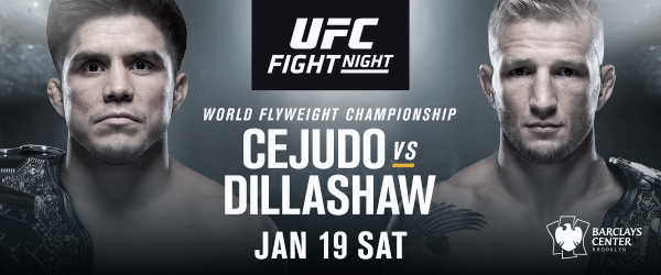 UFC Kicks Off 2019 on ESPN+ with Flyweight Championship Superfight