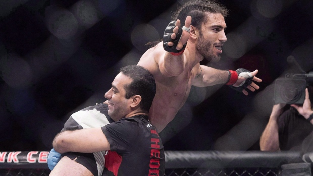 Mississauga's Elias Theodorou to lead Canadian content at May UFC Ottawa card