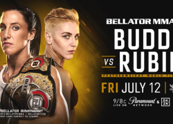 Julia Budd Defends Her Bellator Featherweight World Title Against Olga Rubin on July 12