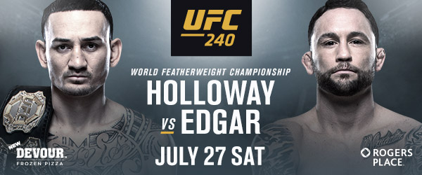 Canada! Get Early Access to Tickets to UFC's Max Holloway vs Frankie Edgar