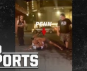 Raw video: BJ Penn allegedly involved in street fight with a strip club bouncer in Hawaii