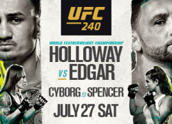 Canada! You Won't Want to Miss UFC 240 – Just a Few Tickets Left!