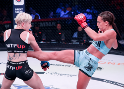Canada's Julia Budd defeats Olga Rubin via TKO at Bellator 224