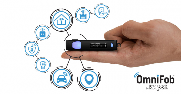 OmniFob™ by Keyport launches on Kickstarter! The world's most advanced keyfob!
