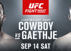 UFC returns to Vancouver with a Fight of the Year Candidate