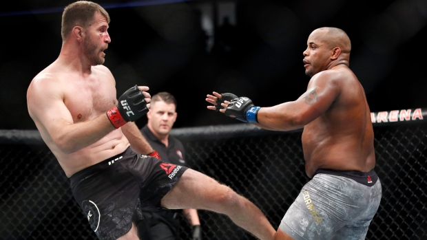 UFC 241 results for 'Cormier vs Miocic 2'