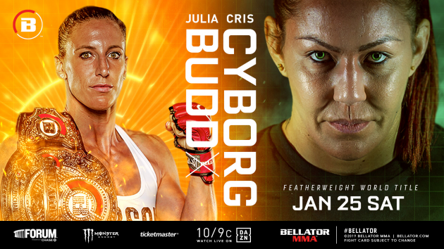 Bellator Featherweight Championship Superfight Between Canada's Julia Budd & Cris 'Cyborg' is Official