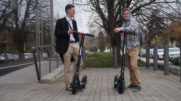 Introducing Canada's Favourite Folding E-Scooter With Power To Get You Around At An Affordable Price