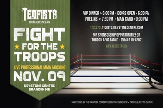 Teofista: Fight for the Troops Results from Brandon, Manitoba