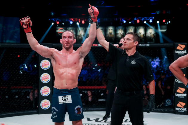 Full Results for Bellator 233: Salter vs. van Steenis