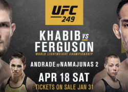 Highly Anticipated Lightweight Title Fight Headlines UFC 249
