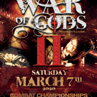 War of Gods II updated fight card for March 7 in Toronto