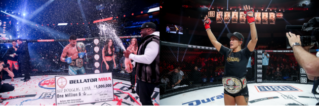 Bellator Re-Signs Champions Douglas Lima and Ilima-Lei Macfarlane to Multi-Year, Multi-Fight Contract Extensions