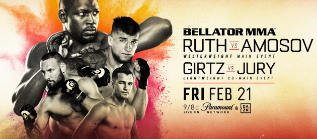 Full Fight Card & Broadcast Details for Bellator 239 This Friday, Feb. 21