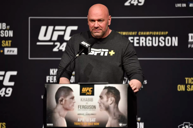 Dana White details mission to host UFC 249: 'I know it's the right thing to do'