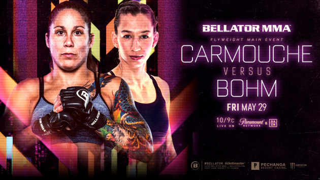 Former UFC's Liz Carmouche to Make Bellator MMA Debut on May 29 Against Undefeated Mandy Böhm