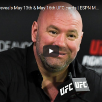 Dana White reveals official UFC fight cards for May 13, May 16 events in Florida
