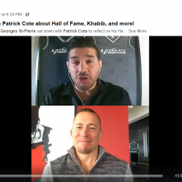 GSP talks with Patrick Cote about Hall of Fame, Khabib, and more!