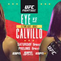 UFC on ESPN 10 fight card for 'Eye vs Calvillo' on June 13 in Las Vegas