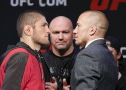 Georges St. Pierre unsure of Khabib fight, worries weight cut would compromise performance
